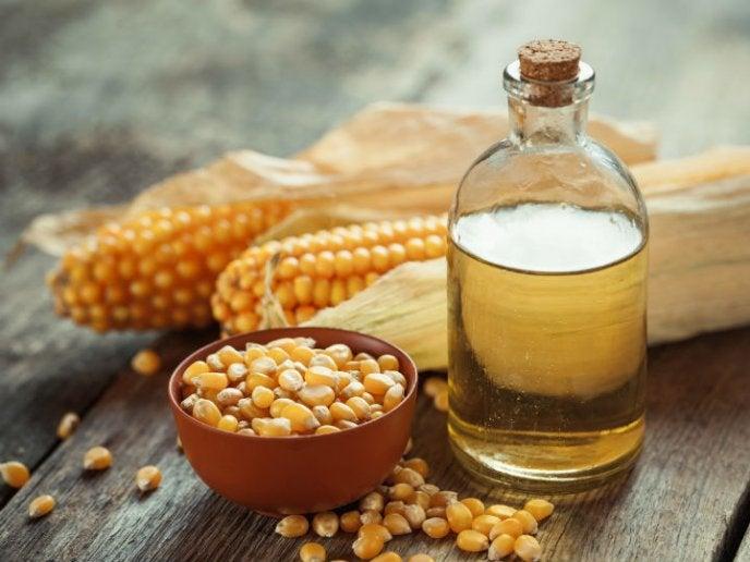aceite de maíz cómo se produce