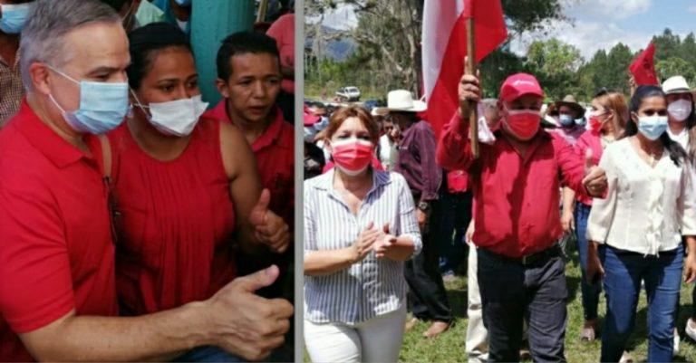 El Paraíso: dirigencia y militantes del PL y LIBRE dan primer paso para la alianza