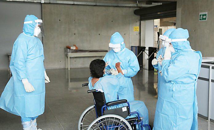 Capacidad pacientes Covid-19