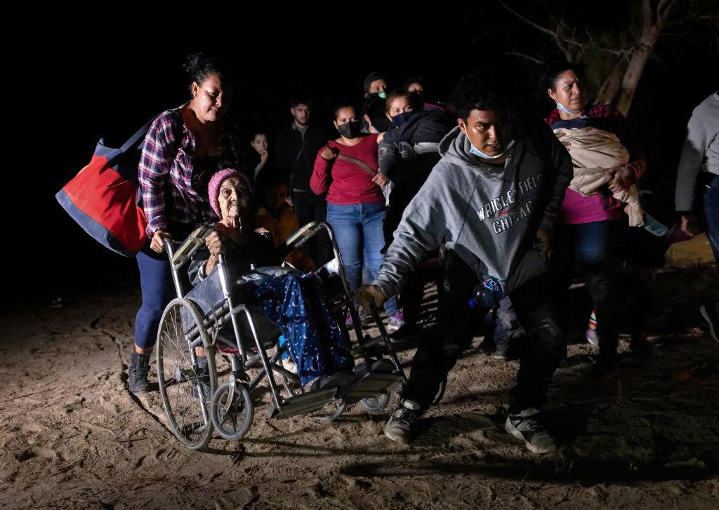 hondureña cruza frontera EEUU 93 años