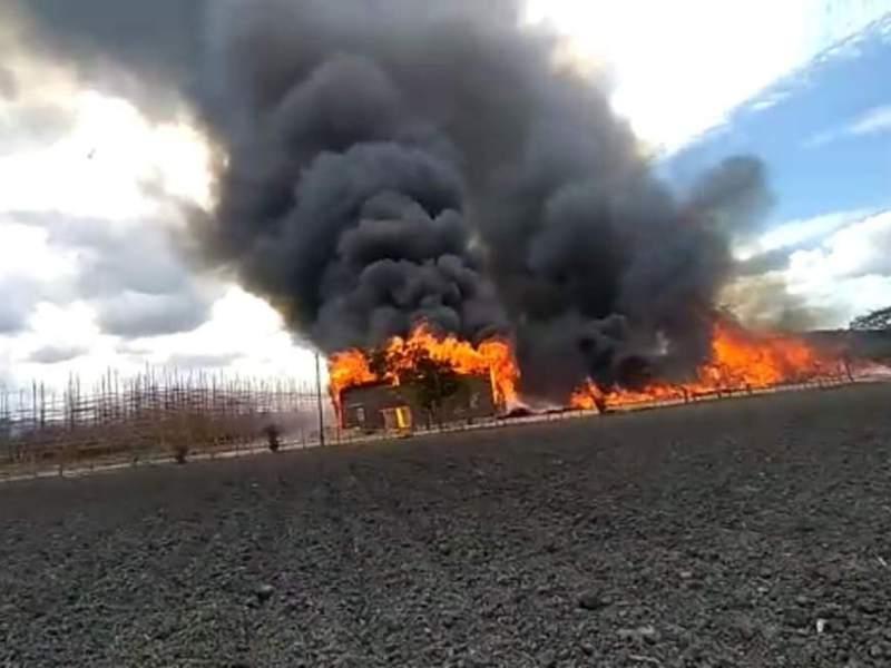 El Paraíso incendio