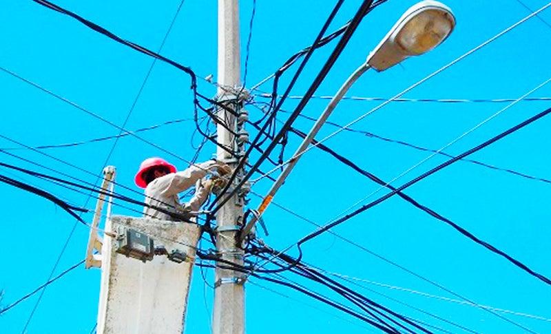 cortes de energía viernes Honduras
