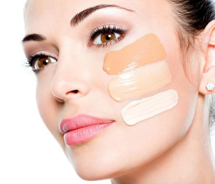 base adecuada para piel