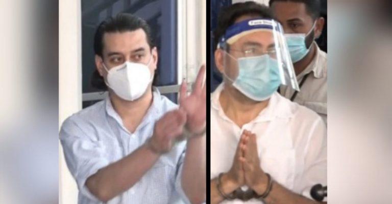 En audiencia inicial, presentan 50 pruebas contra Marco Bográn y Áxel Moraes