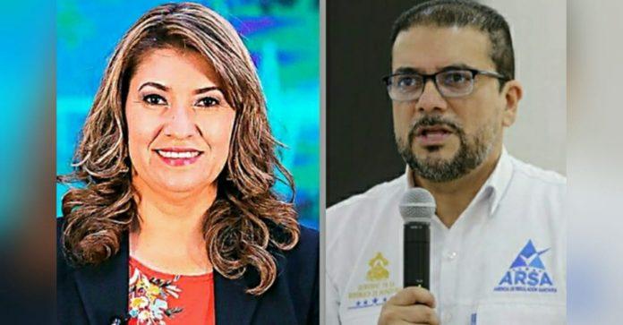 destitución de Alba Consuelo Flores