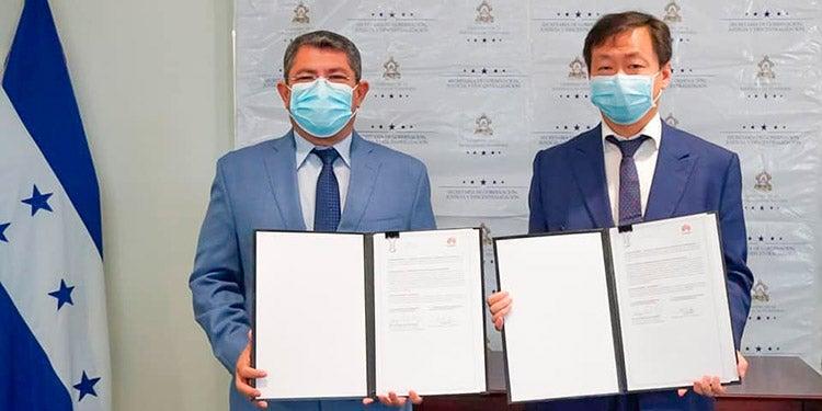 Huawei une fuerzas con gobierno de Honduras e impulsan «Municipalidades Inteligentes»
