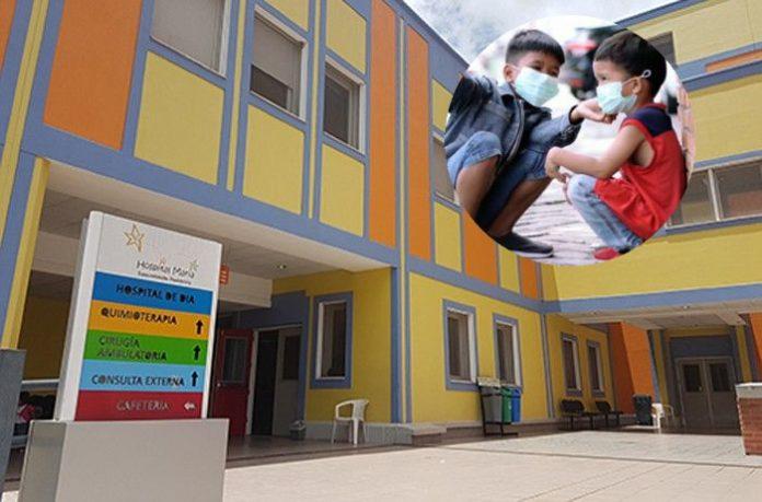 niños en cuidados intensivos Hospital María