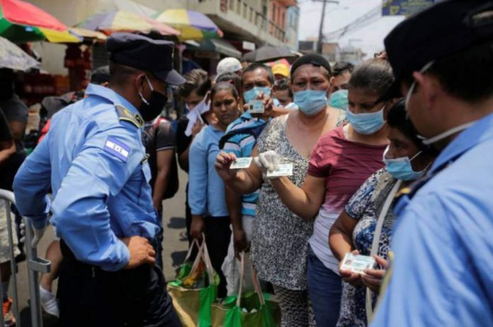medidas de circulación Honduras