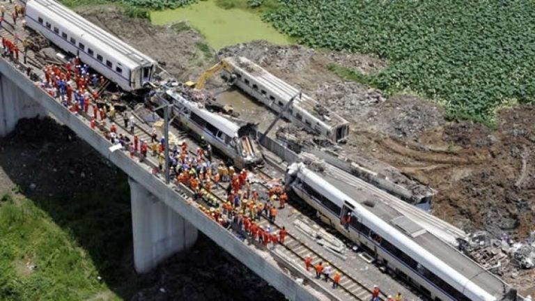 GALERÍA| Las peores catástrofes ferroviarias de los últimos 10 años