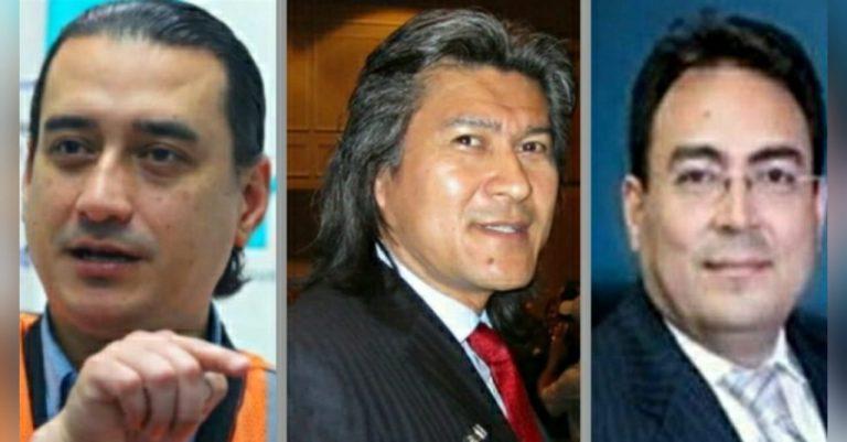 Presentan requerimiento fiscal contra Marco Bográn, Álex Moraes y Áxel López