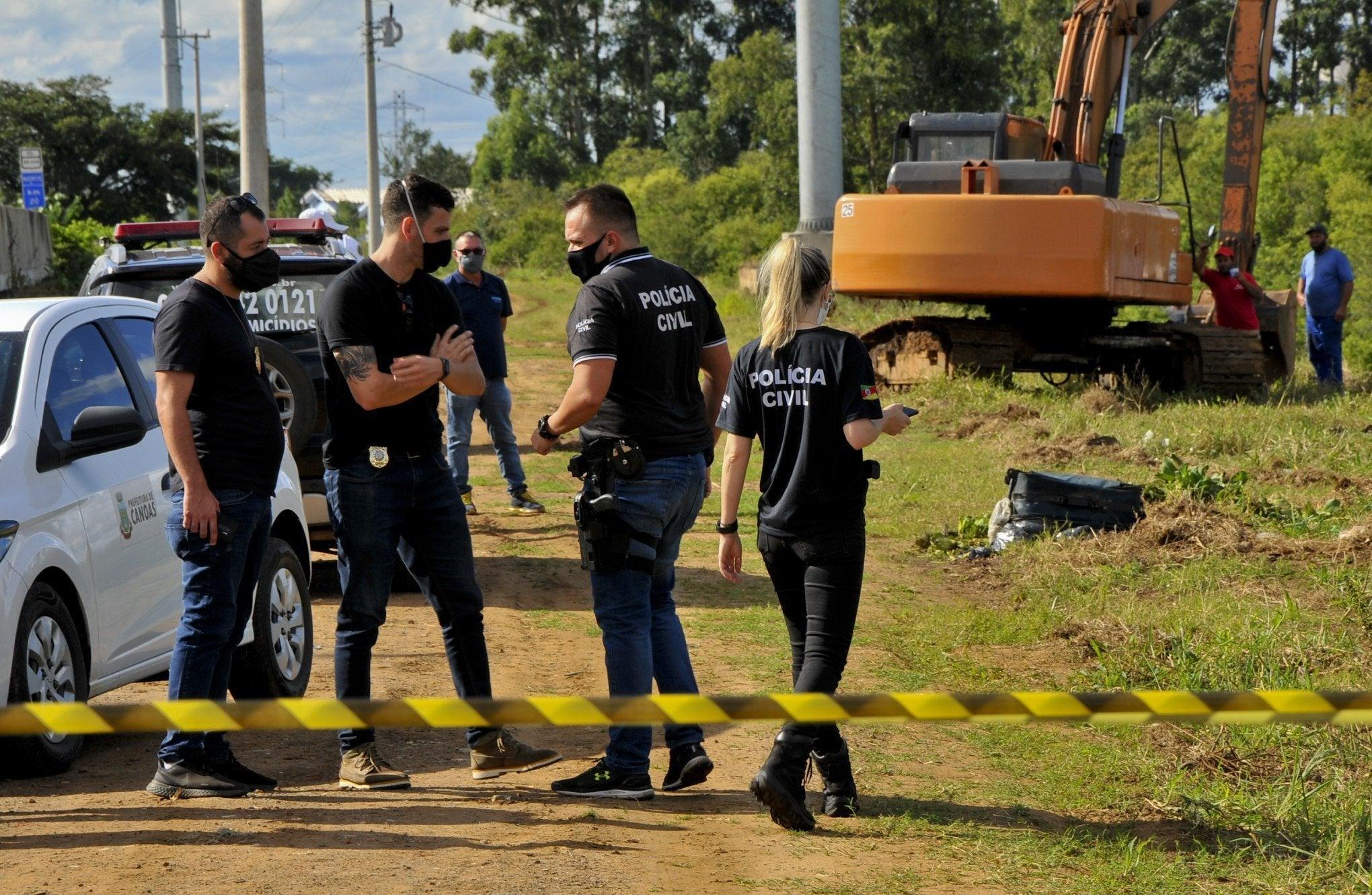 maleta restos de mujer descuartizada Brasil