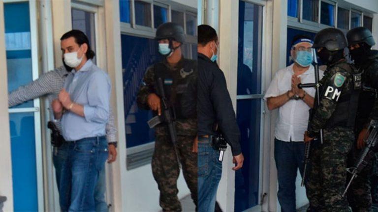 Fiscalía pide formal procesamiento y prisión preventiva para Bográn y Moraes