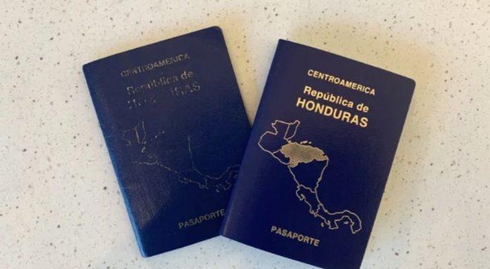 Hondureños reclamar pasaporte España