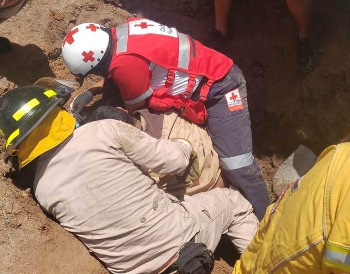 Muere uno de los obreros soterrados; tenía 14 días de trabajar en construcción