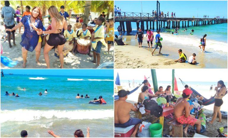 JUEVES SANTO| Hay toque de queda y las playas cierran temprano