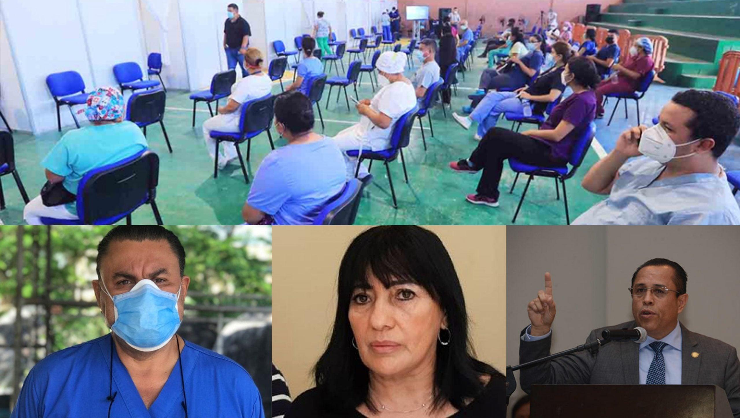 Callar médicos triajes coartar libre expresión