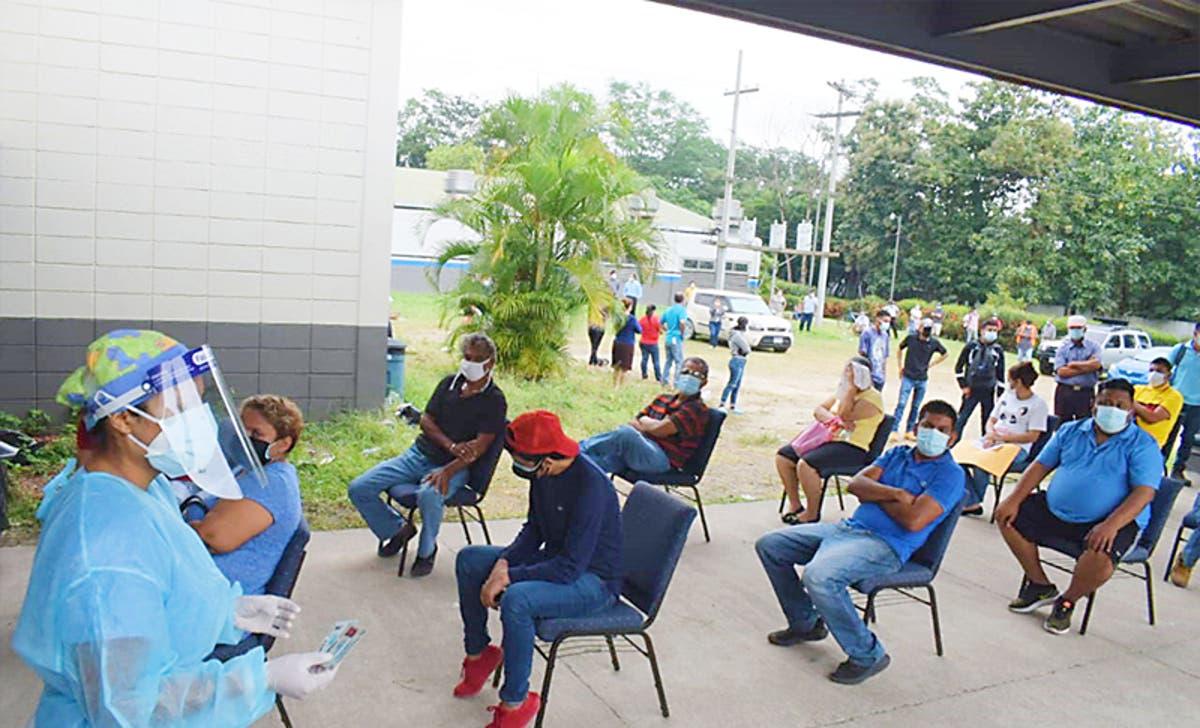 mes casos covid Honduras