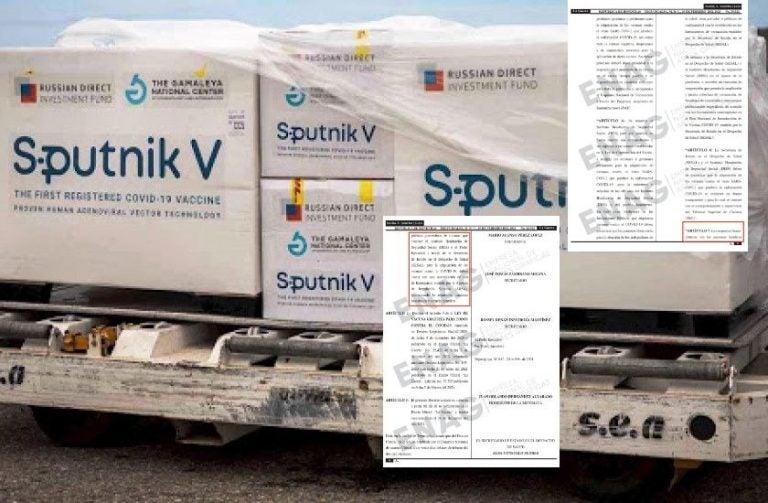 Salud se defiende ante polémica en compra de la vacuna rusa Sputnik V