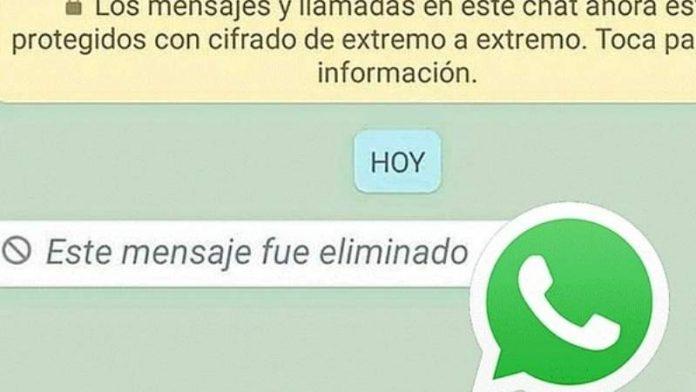 whatsapp elimina mensajes 24 horas