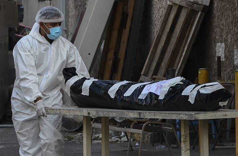 Secretaría de Salud: entre 40 y 45 personas mueren al día por COVID-19
