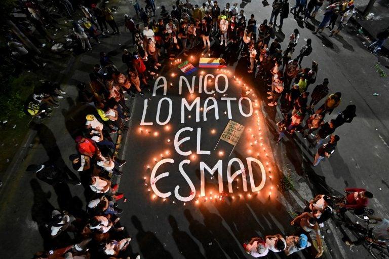 El ESMAD, el escuadrón acusado de las muertes en protestas de Colombia
