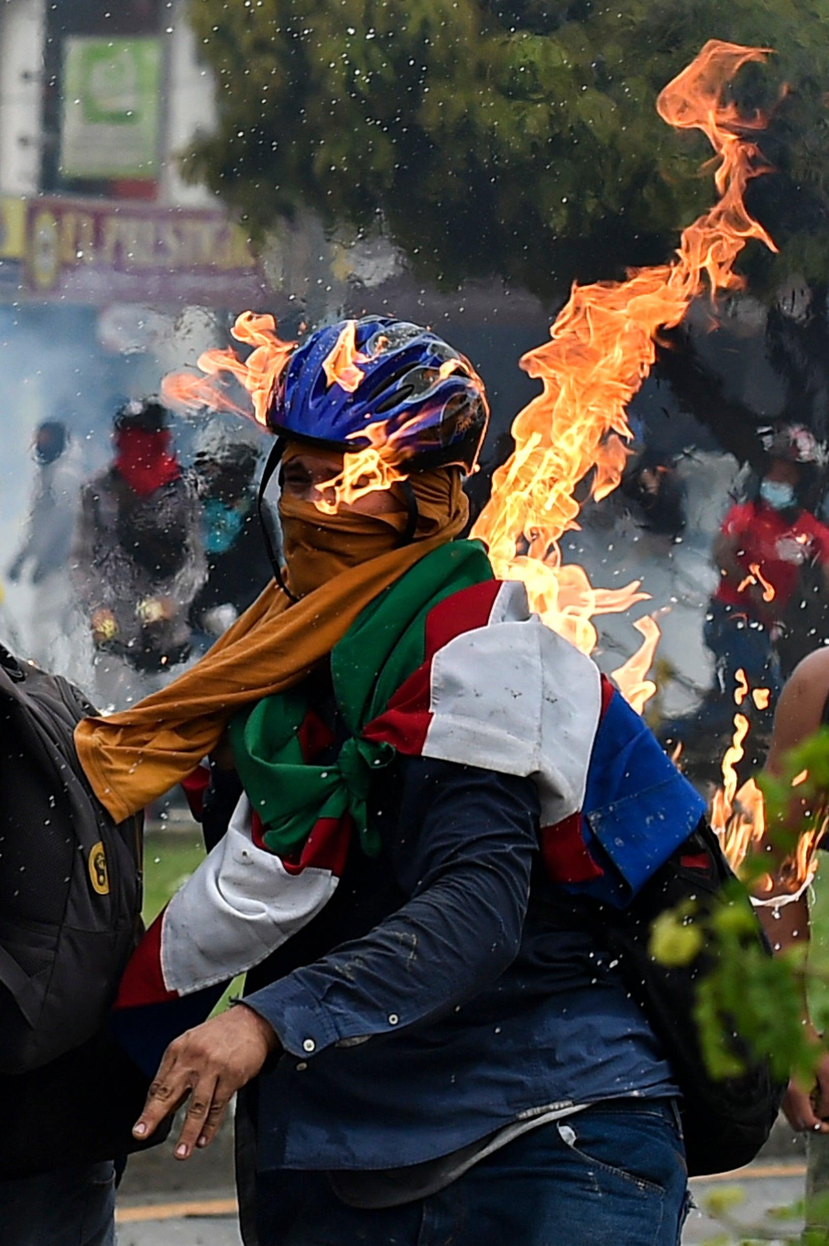 Represión en Colombia