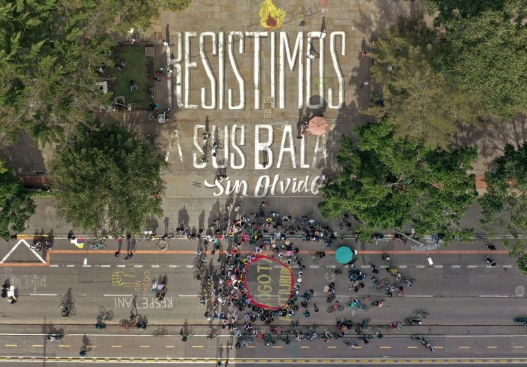 Torturas, asesinatos y casi 500 desaparecidos reportan durante protestas en Colombia