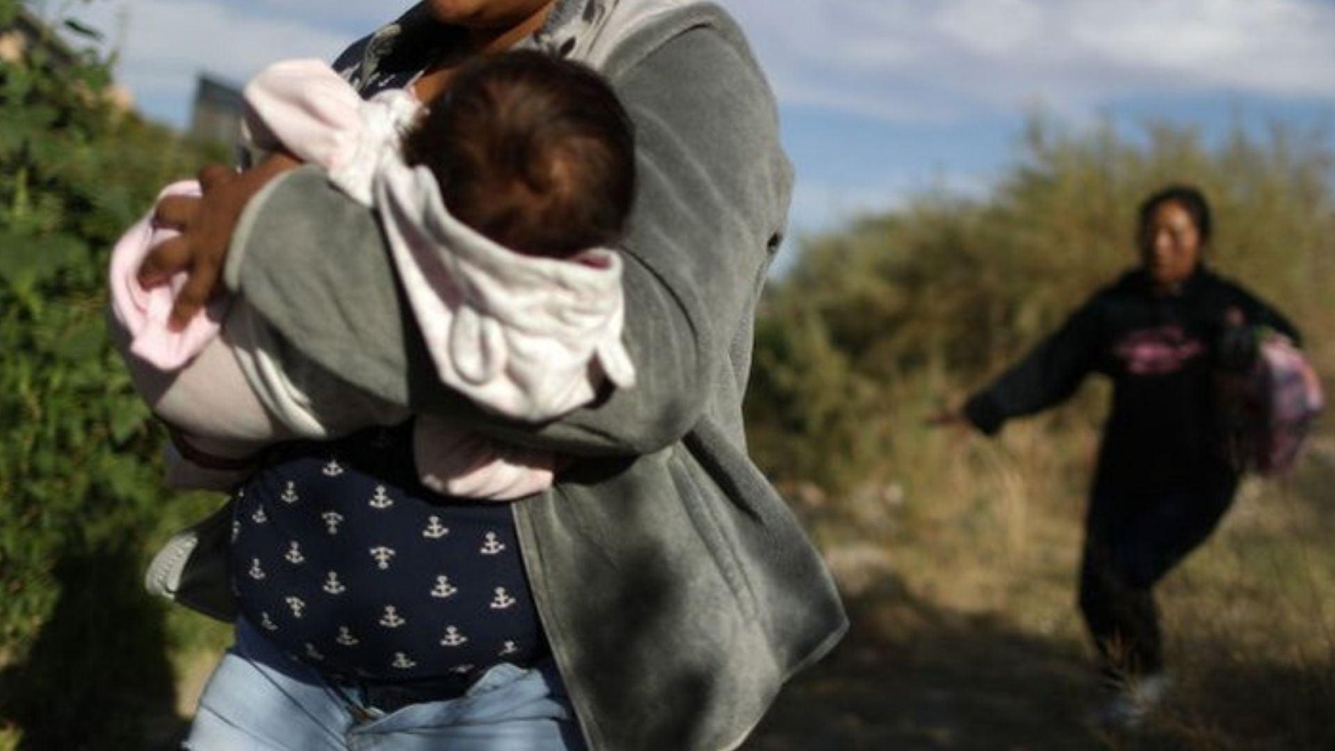 Migrante hondureña bebé ahogado