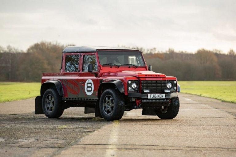 Una Land Rover llevada al límite: motor V8 de 575 hp