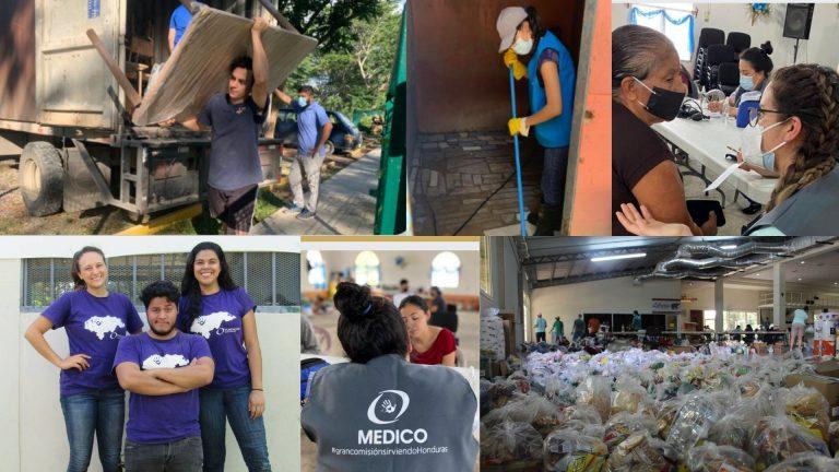 CATRACHO EJEMPLAR | Fundación GC, golpeada por COVID y huracanes, pero no dejó de ayudar