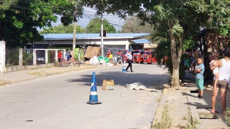 Joven llegó de vacaciones a Honduras desde EEUU, y lo matan en Villanueva