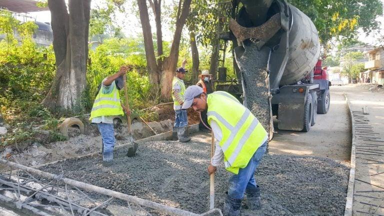 En Chamelecón: Municipalidad de SPS logra 25 % en proyecto de pavimentación