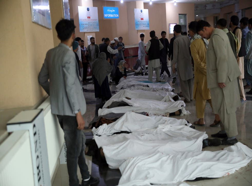 explosión de bus en afganistán