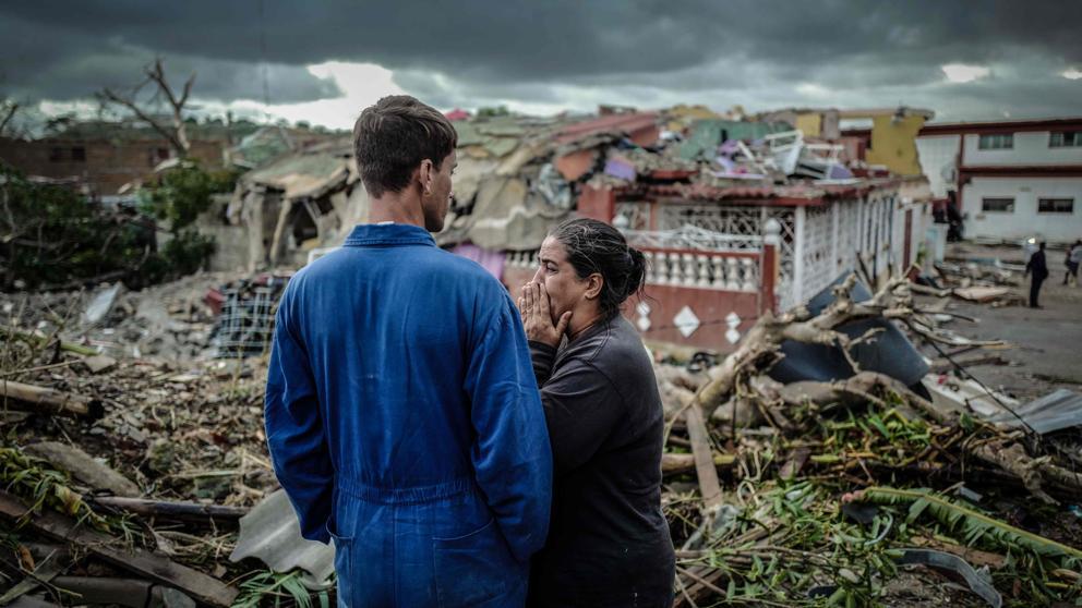 Países COVID y desastres naturales