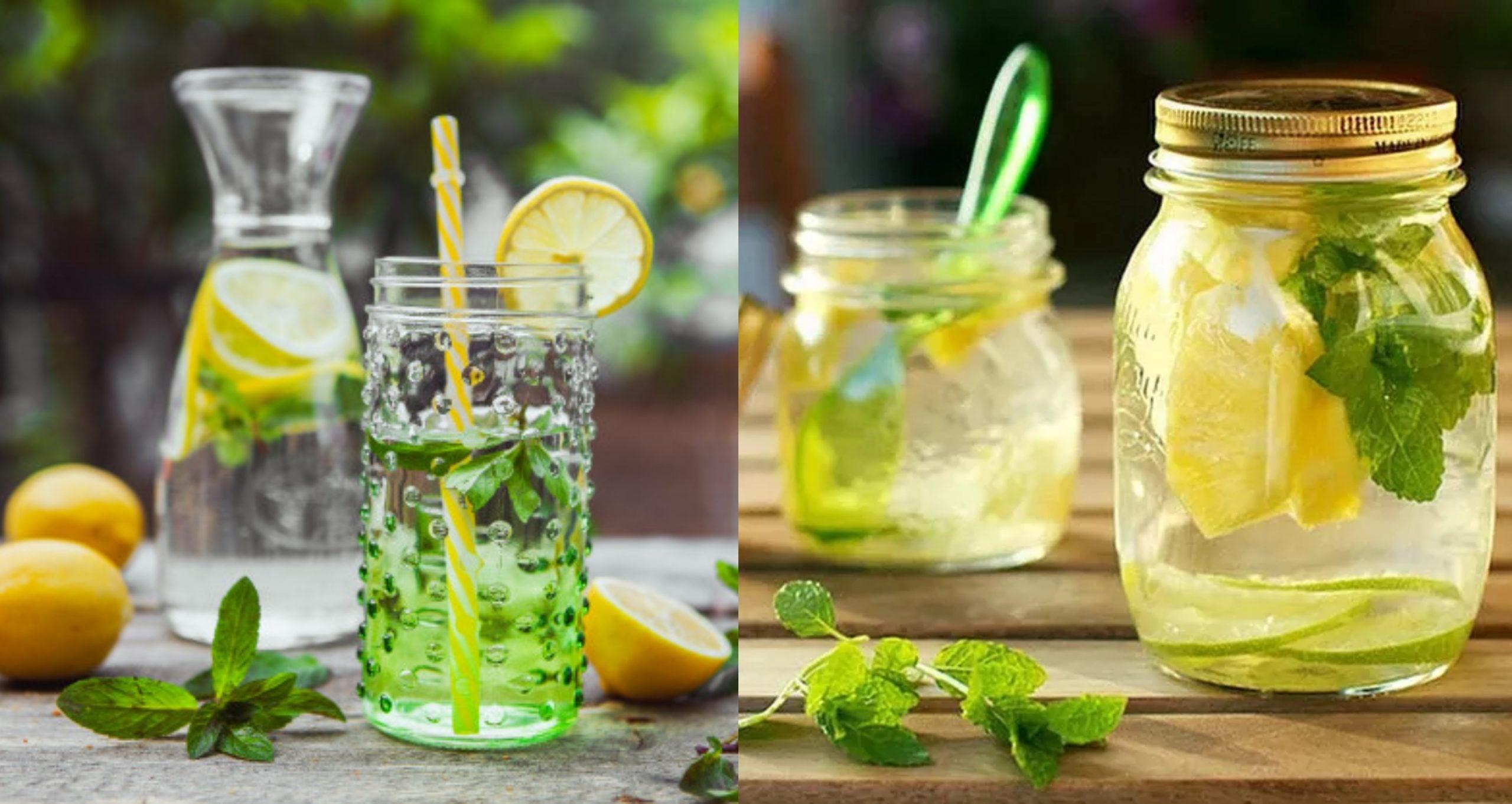 Beneficios de las aguas detox