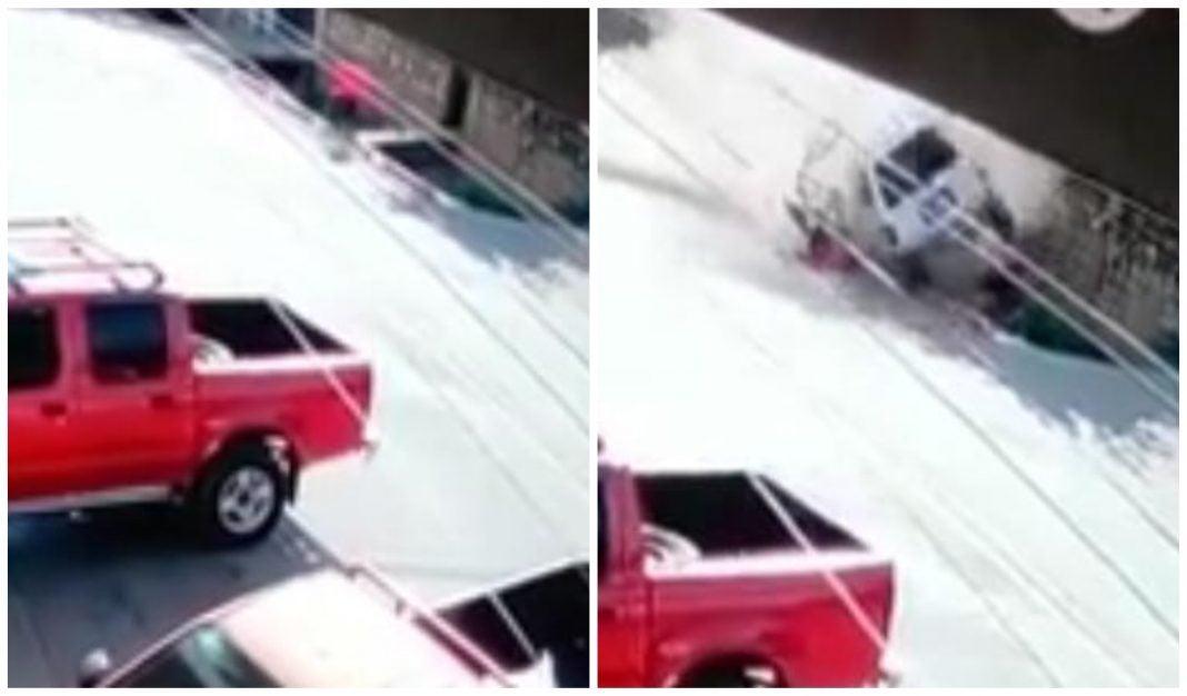 Ciclista arrollado en Copán