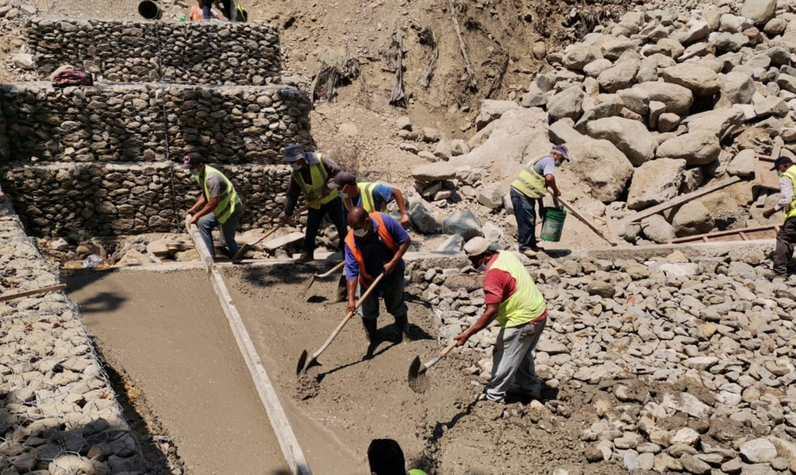 Reconstrucción de Vado Juan Lindo por municipalidad