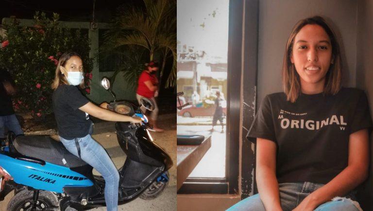 """Stefanie Quiroz, la estudiante que pasó de bici a moto con ahorros de """"mandaditos"""""""