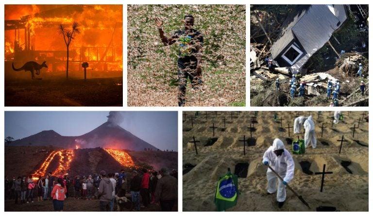 Volcanes, plagas e incendios: países que enfrentan tragedias naturales y COVID