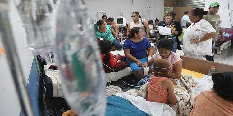 Sesal reporta más de tres mil casos de dengue en Honduras
