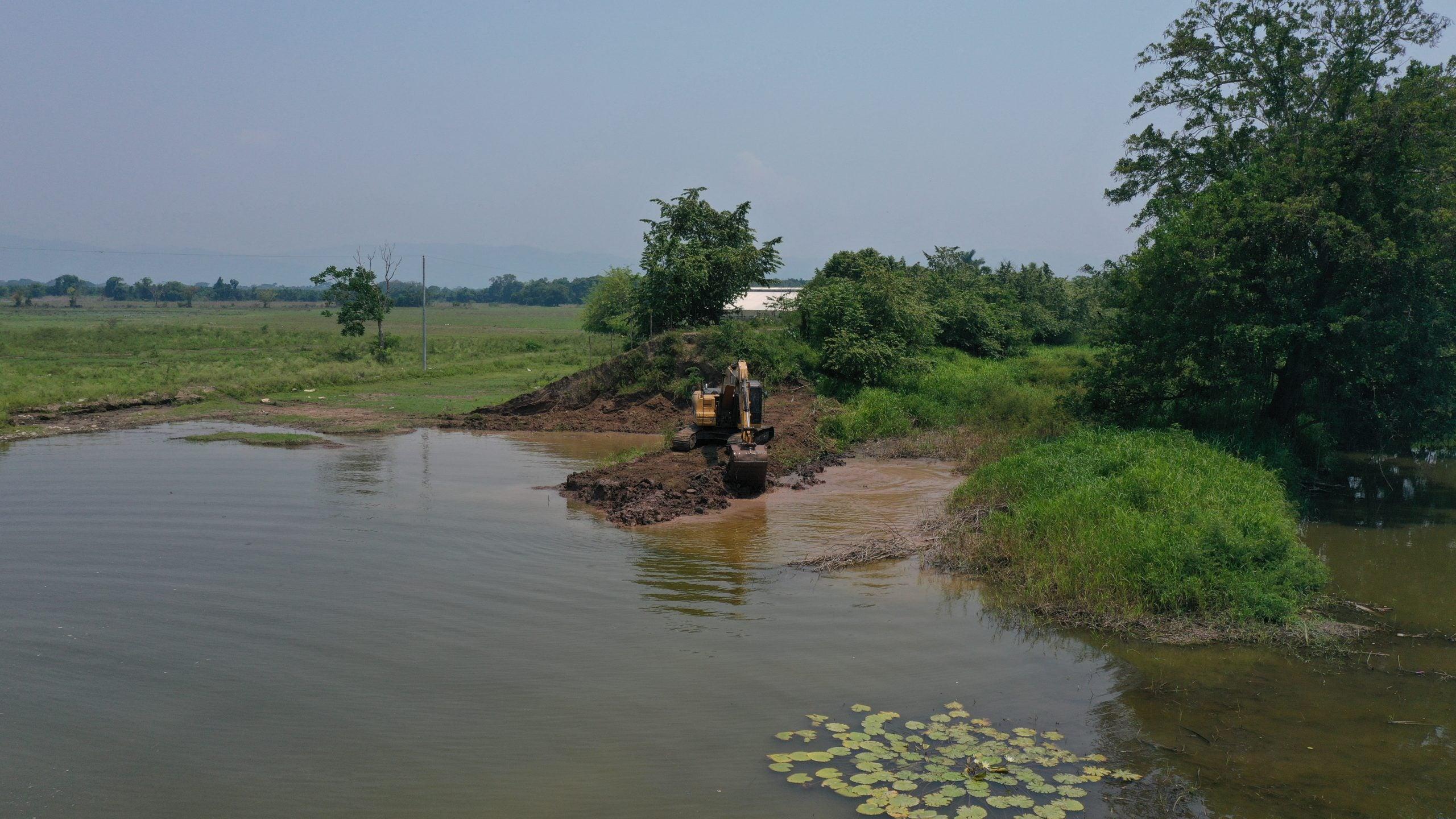 reconstrucción bordos Choloma