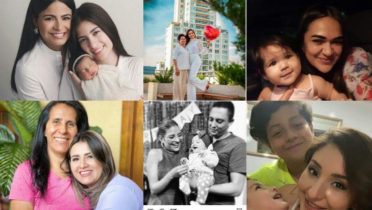 Así celebran el Día de la Madre las presentadoras hondureñas