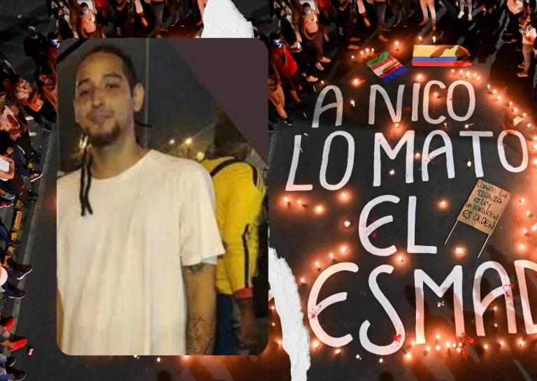 """""""A mi hijo me lo mataron vilmente"""": el crimen de Nicolás Guerrero aviva protestas en Colombia"""