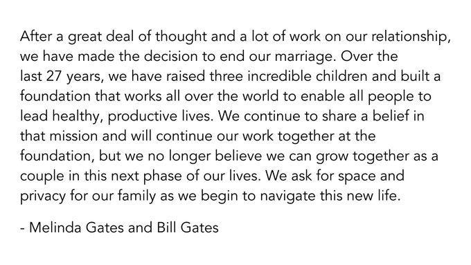 Tuit de Bill Gates