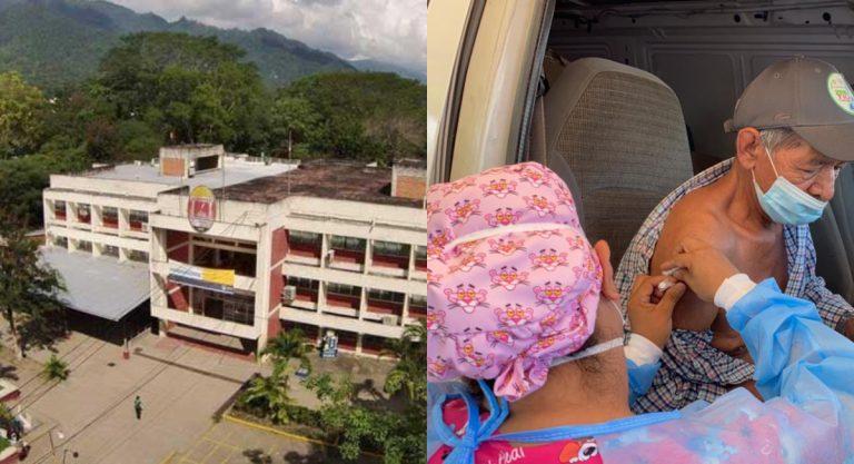 Centro de vacunación en UNAH-VS: autoservicio, peatonal y domiciliario con citas