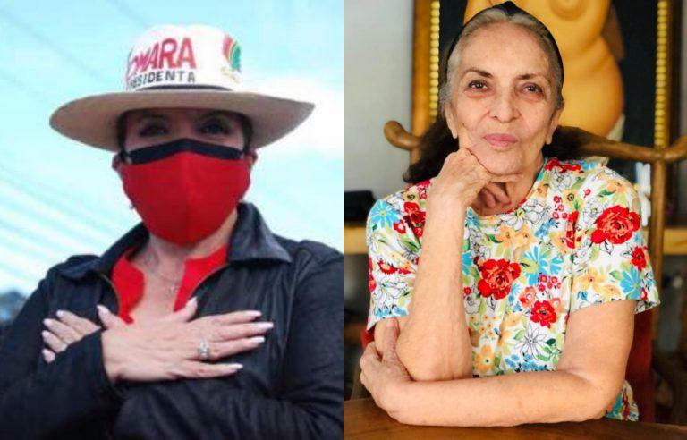 Fallece Olga Sarmiento, madre de la candidata presidencial Xiomara Castro