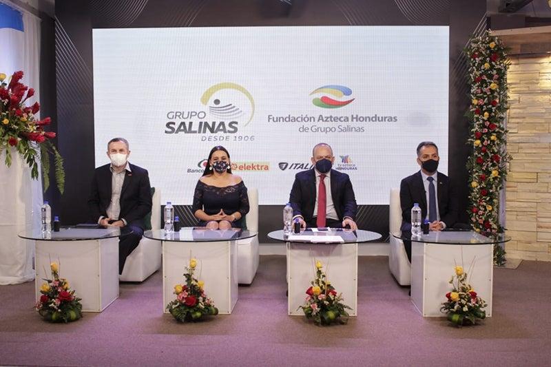 Grupo Salinas crea Fundación Azteca Honduras