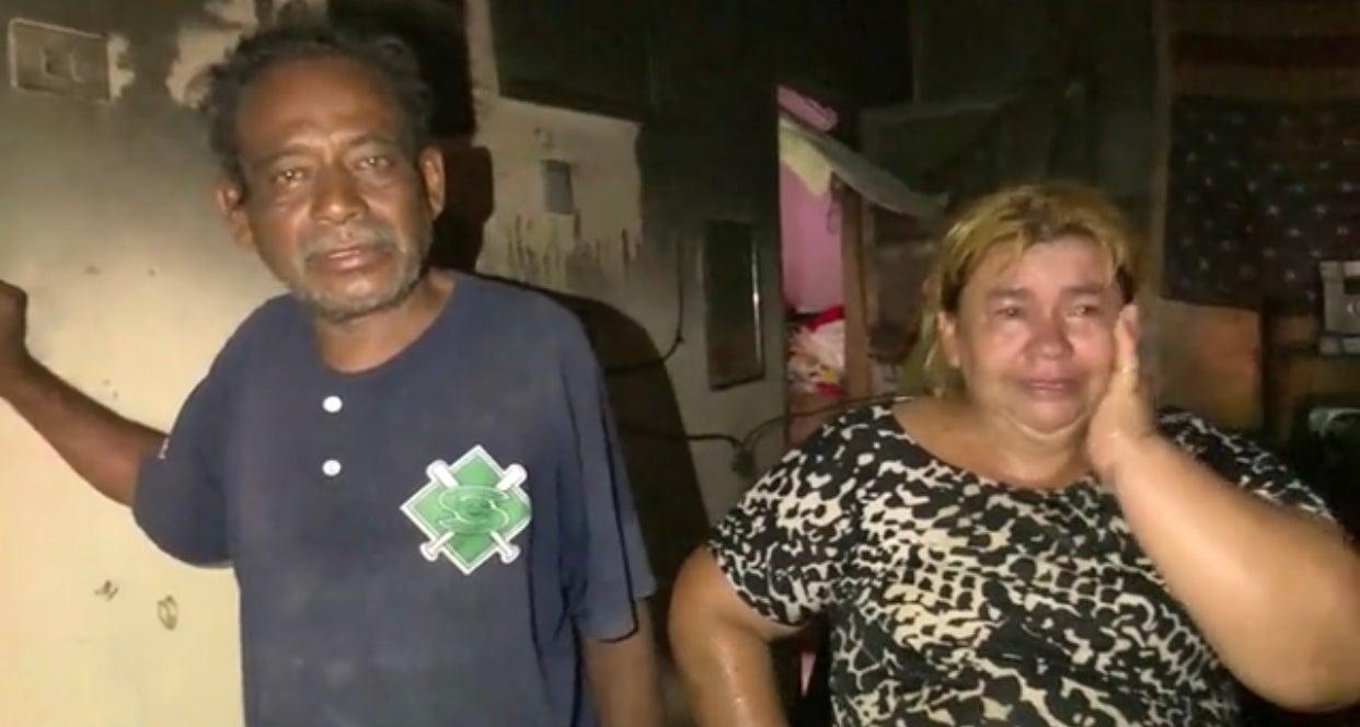 familia perdió todo incendio Chamelecón