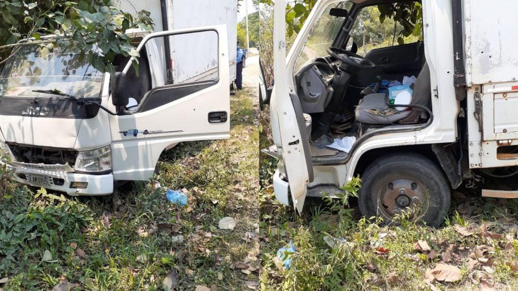 Atlántida asalto camión matan hombres