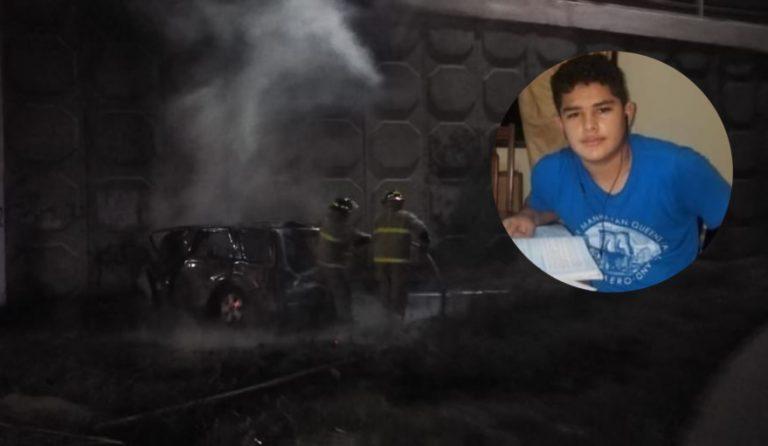 """SPS: adolescente de 15 años que murió calcinado usaba el carro para """"hacer mandados"""""""